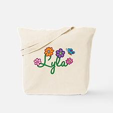 Lyla Flowers Tote Bag