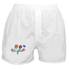 Lyla Flowers Boxer Shorts