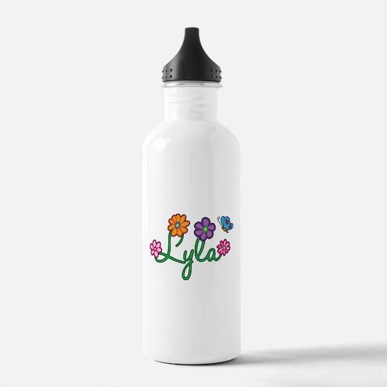 Lyla Flowers Water Bottle