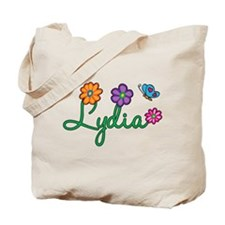 Lydia Flowers Tote Bag