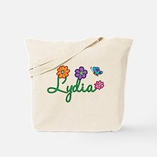 Lydia Flowers Tote Bag