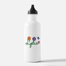 Lydia Flowers Water Bottle