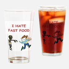 Funny monster joke Drinking Glass