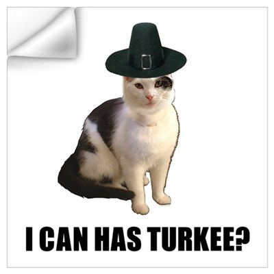 Can has turkee Wall Decal