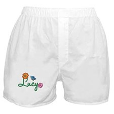 Lucy Flowers Boxer Shorts