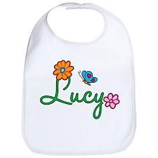 Lucy Flowers Bib