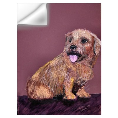 """Corky"" the Norfolk Terrier Wall Decal"
