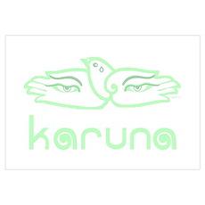Karuna (Compassion) Poster