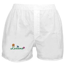 Luciana Flowers Boxer Shorts