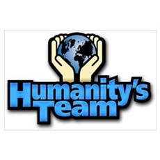 Humanity's Team Poster