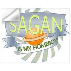 Sagan is my Homeboy Wall Decal