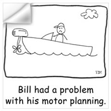 Motor Planning Wall Decal