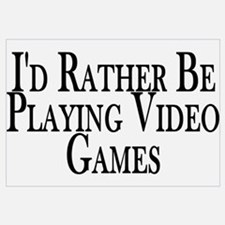 Rather Play Video Games