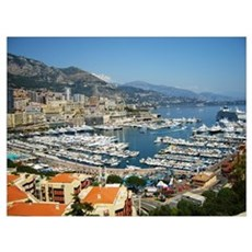 Monte Carlo, France Canvas Art