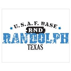 Randolph Air Force Base Poster