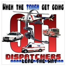 Dispatchers lead the way Poster