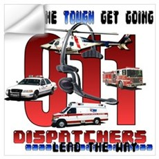 Dispatchers lead the way Wall Decal
