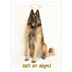 No Angel Framed Print