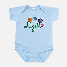 Lizeth Flowers Infant Bodysuit