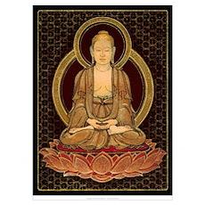 Mini Buddha Print Poster