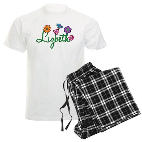 Lizbeth Flowers Men's Light Pajamas