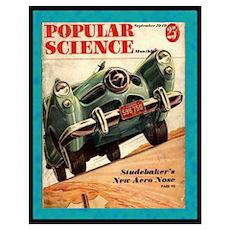 """""""1950 Studebaker Test"""" Poster"""