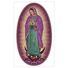 9 Lady of Guadalupe Poster