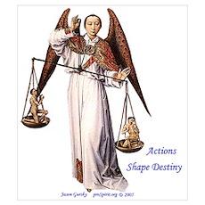 Archangel Michael - Actions shape Destiny Mini Pos Poster