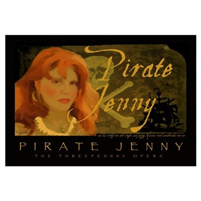 Pirate Jenny Poster