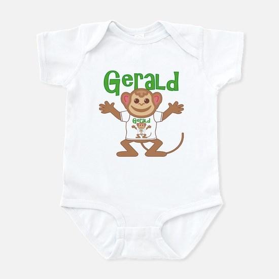 Little Monkey Gerald Infant Bodysuit