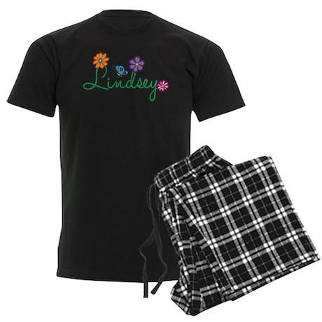 Lindsey Flowers Men's Dark Pajamas