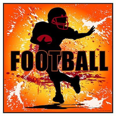 2011 Football 6 Poster