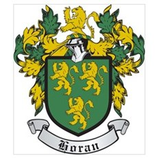 Horan Coat of Arms Canvas Art
