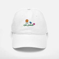 Lina Flowers Baseball Baseball Cap