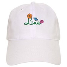 Lina Flowers Baseball Cap