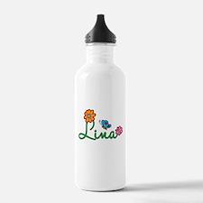 Lina Flowers Water Bottle