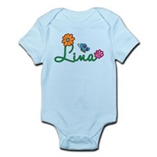Lina Flowers Infant Bodysuit