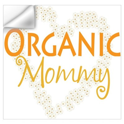 Organic Mommy Wall Decal