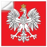 Polish flag Wall Decals