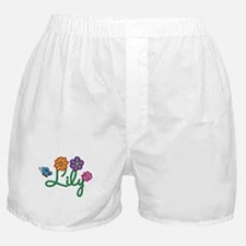 Lily Flowers Boxer Shorts
