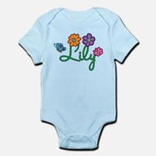 Lily Flowers Infant Bodysuit