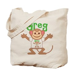 Little Monkey Greg Tote Bag