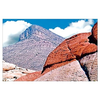 Red Rock Canyon State Park Poster