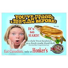 Honker's Canadian New Item Poster
