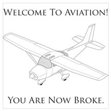 Welcome To Aviation! Framed Print