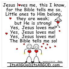 JESUS LOVES ME! Poster