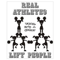 Athletes - Cheer Poster