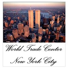 WTC at Sunrise Poster