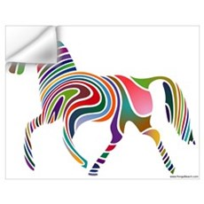 My Rainbow Horse Wall Decal