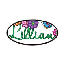 Lillian Flowers Patches